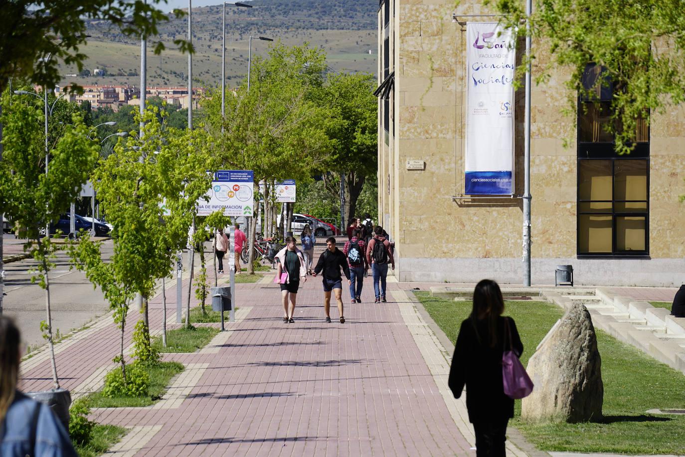 La mitad de los universitarios de Castilla y León eligen a la USAL como primera opción