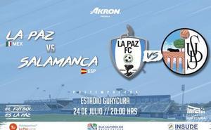 El equipo mexicano La Paz anuncia otro amistoso con el Salamanca CF UDS para el 24 de julio
