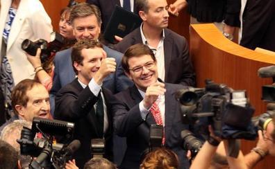 El primer gobierno de Mañueco se conocerá el lunes