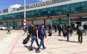 El Aeropuerto de Villanubla registra, con 124.593 pasajeros, el mejor primer semestre desde 2013