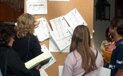 La UVA publicará el lunes los datos de preinscripción y el primer listado de alumnos admitidos