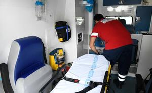 Los técnicos de ambulancias trabajan en instalaciones precarias e insalubres en Valladolid