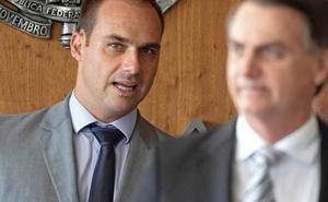 Bolsonaro pretende que su hijo sea el embajador brasileño en Estados Unidos