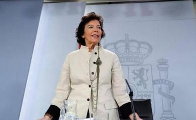 El lapsus de Isabel Celaá: llama Julio Iglesias al líder de Podemos