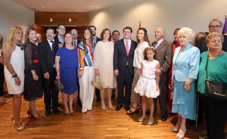 Toma de posesión de Alfonso Fernández Mañueco como presidente de la Junta de Castilla y León (2/2)