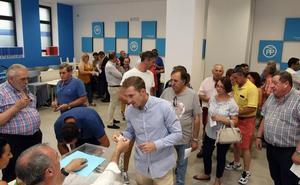 Nueve de los trece diputados provinciales del PP de Segovia repetirán escaño