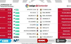 LaLiga anuncia los horarios de las tres primeras jornadas