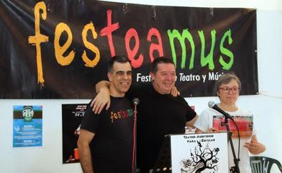 Los actores Alex O'Dogherty y Jesús Puebla estarán en el festival Festeamus