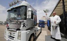 Los transportistas de Palencia festejan a su patrón