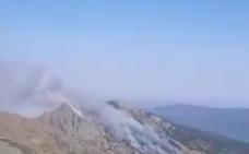 Ávila lucha de nuevo contra las llamas en un incendio de nivel 1 en Sotillo de La Adrada