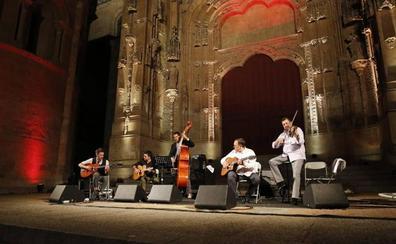 El jazz de Django Reinhardt resucita en el Patio Chico