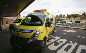 Herida una persona tras la colisión de tres coches cuando uno de ellos huía de la Policía en Salamanca