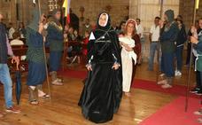 Escenificación del cortejo fúnebre de la Reina Juana I de Castilla en Torquemada