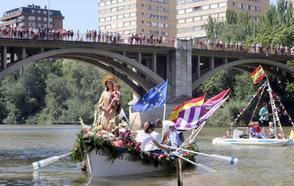 La Virgen surca el 'mar de Castilla'