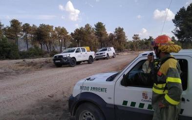 Caen 230 rayos en la provincia en un sábado en el que se produjeron trece incendios forestales