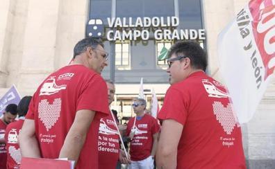 La huelga de Renfe de 23 horas suspende 61 servicios en Castilla y León