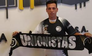 Álvaro Romero, en su estreno con Unionistas: «Soy rápido, hábil, vertical y creo que tengo gol»