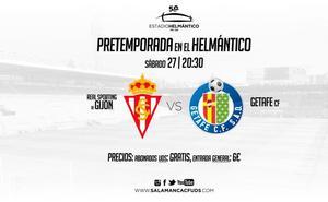 Los abonados del Salamanca CF no pagarán para ver el Sporting-Getafe del sábado 27 en el Helmántico