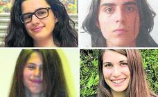 Cuatro alumnos de Valladolid reciben el Premio de Bachillerato de Excelencia