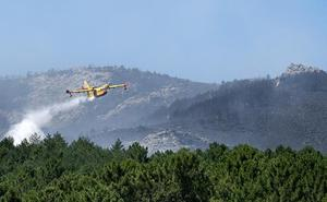Se reproduce el incendio de Sotillo de la Adrada, que afecta a la Reserva Natural de Iruelas
