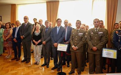 El coronel Emilio García Herrera toma el mando de la Subdelegación de Defensa