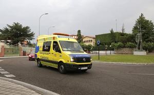 Herido un joven tras salirse con su vehículo en Villoldo