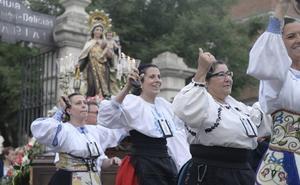 La capital y Rioseco veneran a la Virgen del Carmen