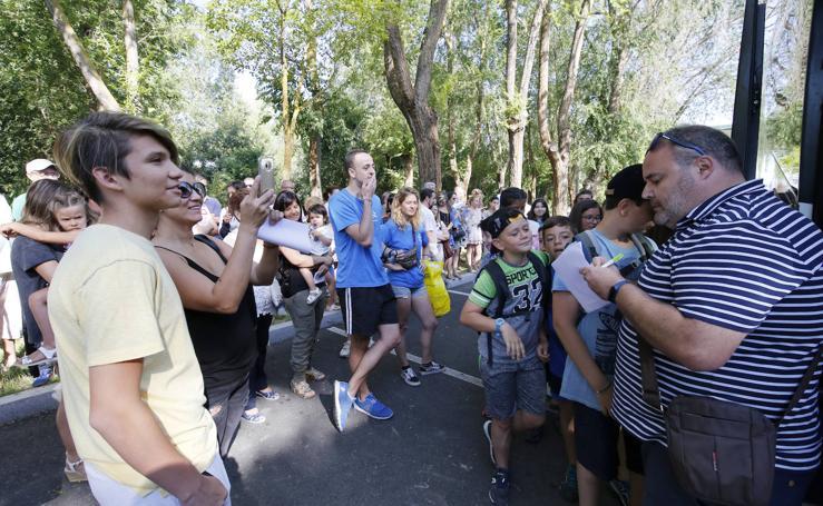 Los niños de Palencia van de campamento a Frómista