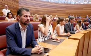 Tudanca, sorprendido por la falta de Gobierno en Castilla y León, espera que se conozca «cuanto antes»