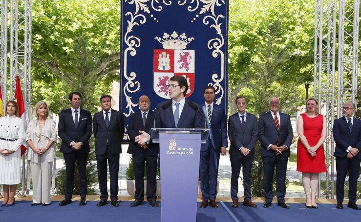 Toma de posesión de los nuevos Consejeros en la Junta de Castilla y León