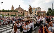 Procesión de la Virgen del Carmen por Salamanca