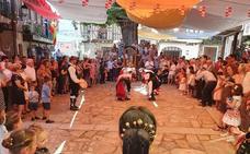 Relevo generacional garantizado en los bailes de las fiestas del Carmen en Herguijuela