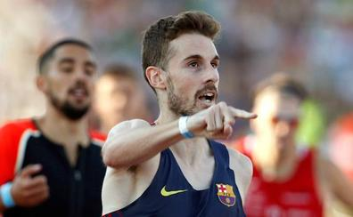 Álvaro de Arriba se vuelve a quedar cerca de la mínima mundialista en Barcelona