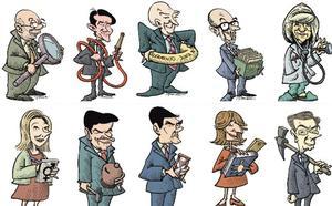 El perfil de los nuevos consejeros de la Junta