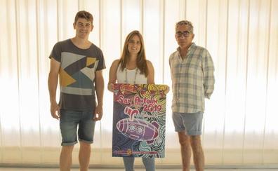El diseño 'Por el Río Carrión' gana el Concurso de Carteles de San Antolín