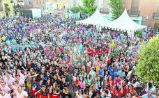 Cientos de personas arropan al pregonero de las Fiestas de Santa Marina en Cigales