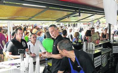 El Ayuntamiento de Palencia renueva solo un año la Feria de Día y exigirá innovación a los hosteleros