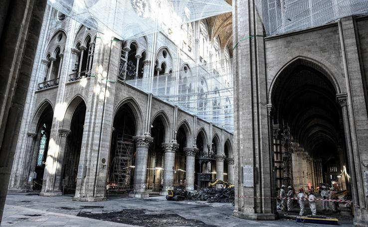 Notre Dame, tres meses después del trágico incendio
