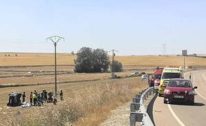 Fallece una niña de 14 años en un accidente de tráfico en la localidad vallisoletana de Torrelobatón