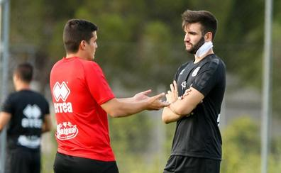 Javi Hernández no entrenará al menos hasta el miércoles