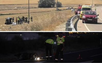 Dos muertos en sendos accidentes en Torrelobatón y Zaratán en pocas horas