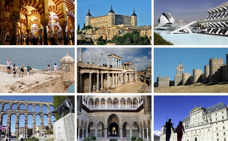 25 monumentos para visitar en España este verano