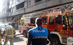 Arde el horno de una cocina de la calle José María Lacort de Valladolid