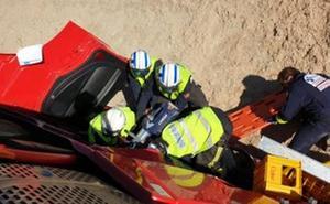Muere un camionero en un accidente en Burgos