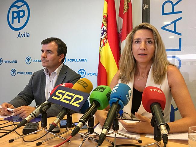 PP insta al Gobierno a cumplir los plazos en las obras del embalse de Las Cogotas