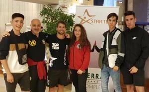Varios salmantinos acuden a un campus internacional de Kickboxing en Bulgaria