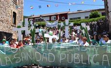Barruelo protesta de nuevo para recuperar las guardias médicas nocturnas perdidas hace un año