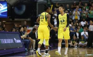 Jewell Loyd, jugadora del CB Avenida, reaparece en la WNBA tras su lesión de tobillo