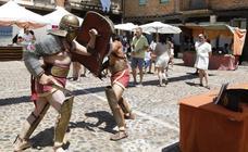 Mercado romano en Saldaña