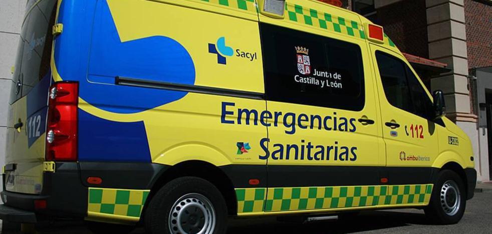 Tres heridos en la autovía A-66 en Castellanos de Villiquera, en Salamanca